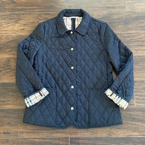 Burberry London Women's quilted jacket size M